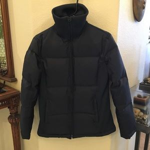 GAP Black Puffer Down & Feathers Jacket-Small